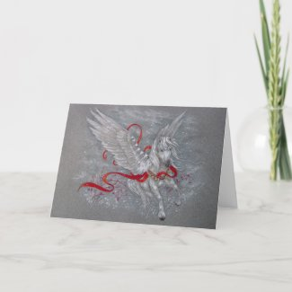 Greeting Card - Holiday Pegasus