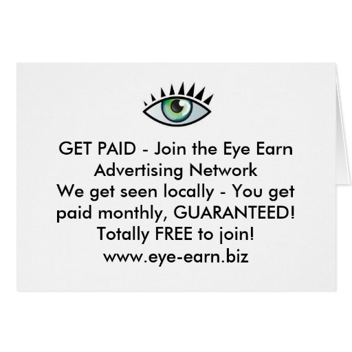 Greeting Card Income Builder.