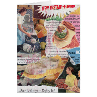 Greeting Card: Instant Flavor