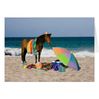 Greeting Card It's Beach Time!!!