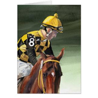 Greeting Card -jockey
