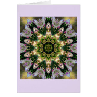 Greeting Card Kaleidoscope Coleus altered image