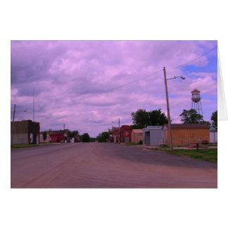 Greeting Card: Kansas Avenue, Looking North Card