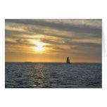 Greeting Card - Key West, FL Sunset