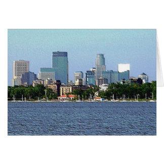 Greeting Card: Lake Calhoun - Minneapolis, MN Greeting Card