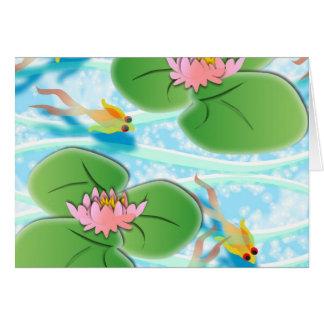 Greeting Card  Lilypad