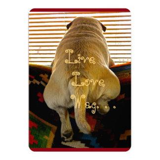 Greeting Card - Live,Love,Wag