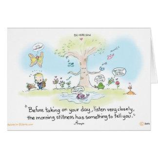 Greeting Card Morning Stillness