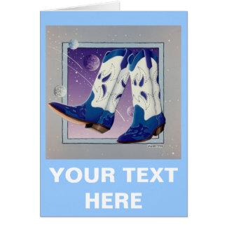 Greeting Card, Note Card - Electric Slide Cowboy B