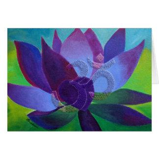 Greeting Card - Om In My Secret Garden