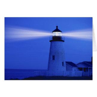 GREETING CARD   Pemaquid Lighthouse