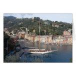 greeting card - Portofino, Italy