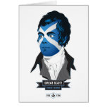 Greeting Card. Robert Burns, a Great Scot! Greeting Card