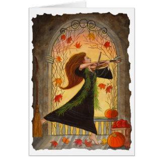 Greeting Card - Samhain Halloween