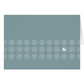 Greeting Card - Skate and Dots