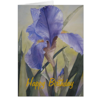 Greeting Card - Spring Rhapsody, Happy Birthday