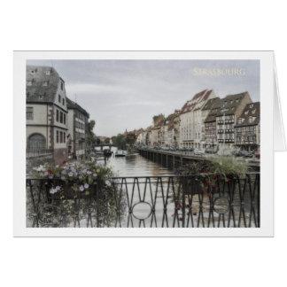 Greeting Card Strasbourg Tarjeta De Felicitación