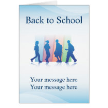 Greeting Card Template Elementary Education