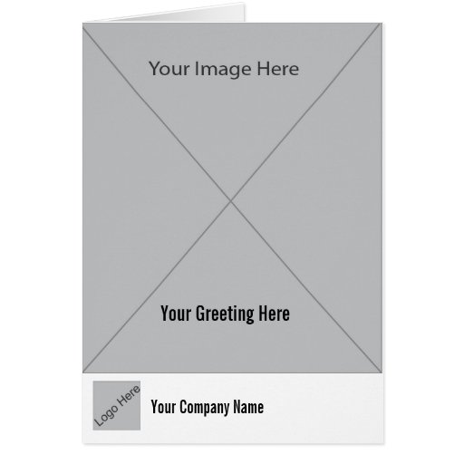 Greeting Card Template Generic 1 Zazzle