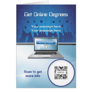 Greeting Card Template Online Degrees
