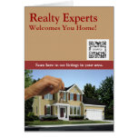 Greeting Card Template Realty Experts