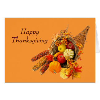 Greeting Card--Thanksgiving Stationery Note Card