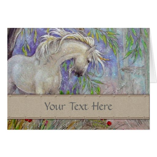 Greeting Card - Unicorn