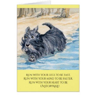 Greeting Card w/ envelope - Be Unstoppable