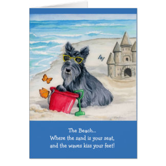 Greeting Card w/envelope - The Beach