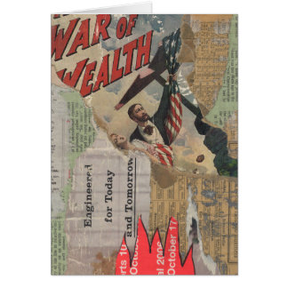 Greeting Card: War of Wealth