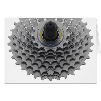 Greeting Card with Bike Sprocket