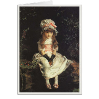 Greeting Card With John Everett Millais Painting