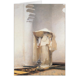 Greeting Card With John Singer Sargent Painting