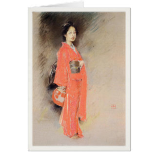 Greeting Card With Robert Frederick Blum Painting