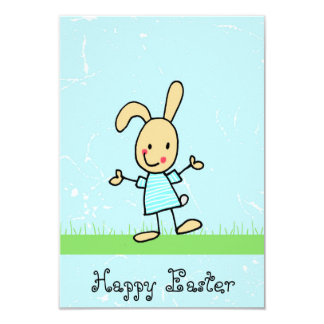 Greeting card with sweet bunny