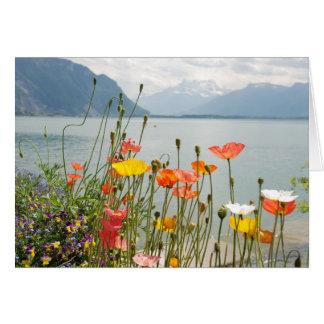 Greeting Card with Switzerland Scene - Blank