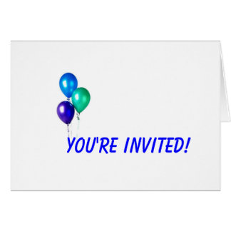 Greeting Card, You're Invited!