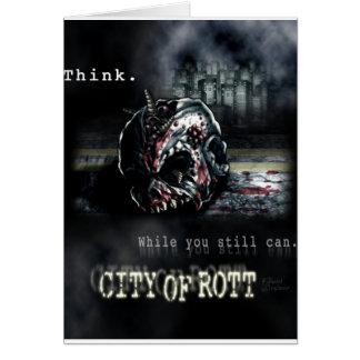 Greeting CardCity of Rott Merchandise Card
