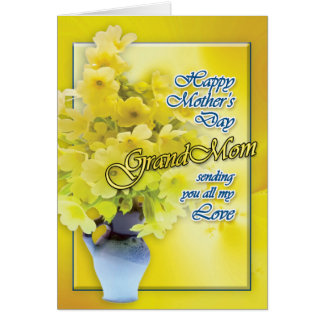 Greeting Cards - Golden Flowers