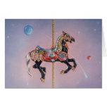 Greeting Cards - Petaluma Carousel Horse 1