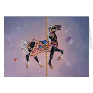 Greeting Cards - Petaluma Carousel Horse 2