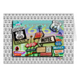Greeting Cards - Route 66 The Mother Road 18SQ