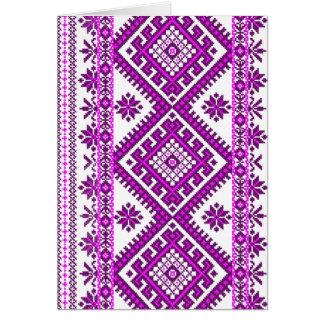 Greeting Cards Ukrainian Cross Stitch Graphic