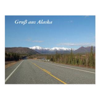 Greeting from Alaska Postcard