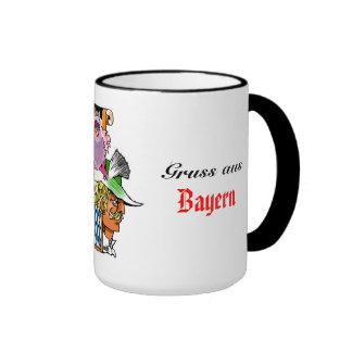 Greeting from Bavaria Ringer Mug