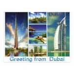 Greeting from  Dubai by Mojisola A Gbadamosi Post Cards