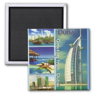 Greeting from  Dubai Magnet by Moji Gbadamosi Okub