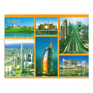 Greeting from Dubai Postcard