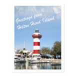 Greeting from Hilton Head Island Post Card