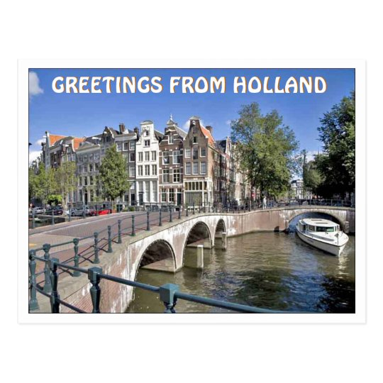 Greeting from holland postcard zazzle greeting from holland postcard m4hsunfo